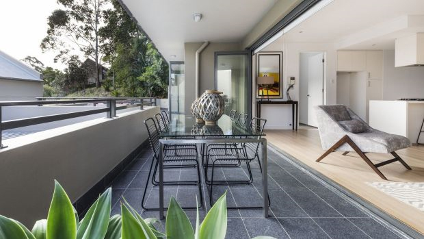 Apartments with large outdoor areas see high demand