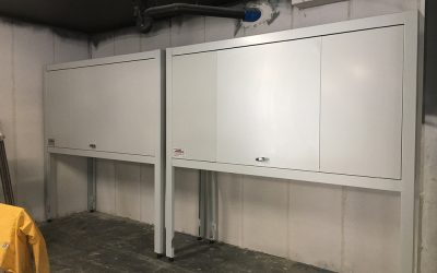 Supply & Install 10 Over Car Bonnet Storage units in Mittagong