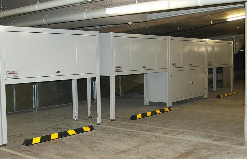 storage for car parks